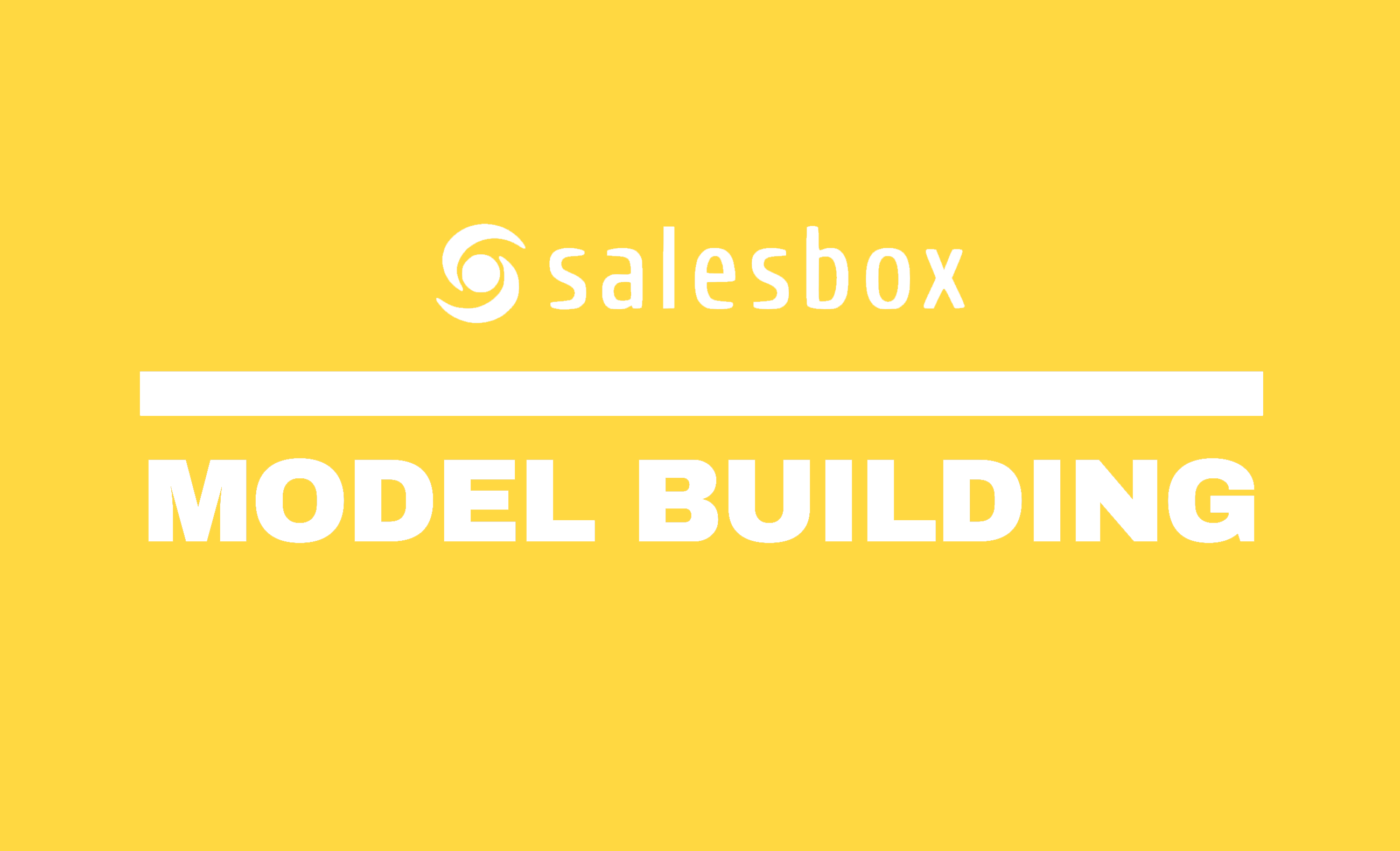 Salesbox Model Building